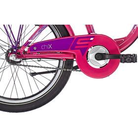 s'cool chiX 20 3-S Steel Børn, pink
